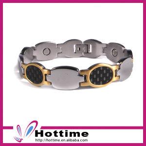 Classic Design Carbon Fiber Bracelet for Silver Color (CP-JS-BL-151) pictures & photos