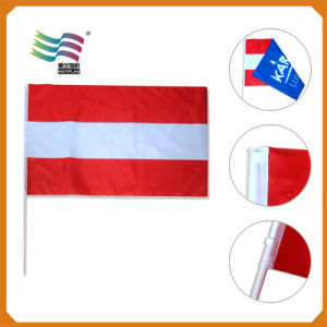 Superior Quality Qatar National Day Small Hand Waving Flag (HYHF-AF035) pictures & photos
