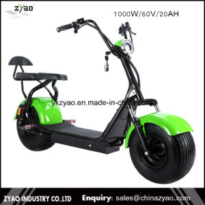 New Hot Selling 18*9.5 Tyre City-Coco Electric Scooter 1000W-2000W Citycoco Scooter 2 Big Wheels City Scooter /Citycoco pictures & photos
