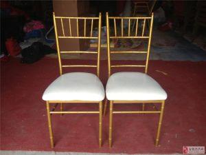 Restaurant Hotel Stacking Metal Wedding Wholesale Chiavari Chair pictures & photos