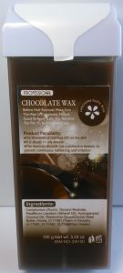 Roll-on Depilatory Wax Chocolate Creme Wax pictures & photos