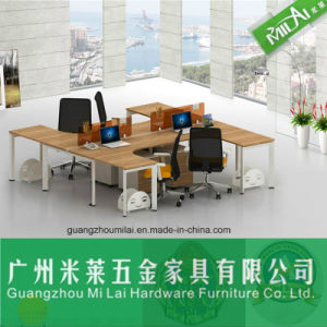 Modern Design Open Modular Office Wooden Workstation Table Furniture pictures & photos