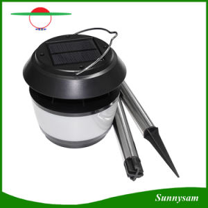 Portable Solar Camping Lantern Light 8PCS LED Outdoor Solar Power Landscape Light Garden Lamp with Mosquito Repellent pictures & photos