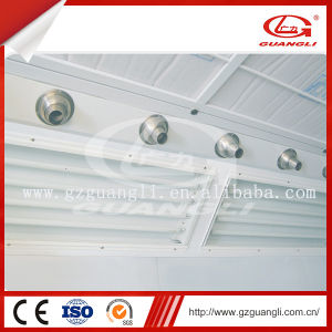 Guangli Factory High Quality Diesel or Gas Heating System Car Paint Dry Room pictures & photos