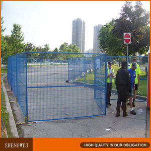 Plastic Coated Garden Temporary Construction Site Fencing pictures & photos