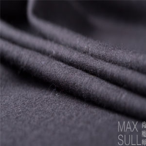 100% Wool Durable Fabric for Winter in Black pictures & photos