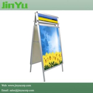 Aluminum Snap Frame a Poster Board with Top Header pictures & photos