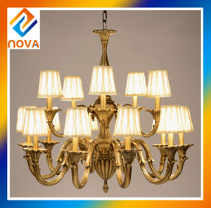 Interior Lighting Bronze Chandelier for Projects pictures & photos