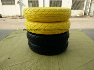China Rubber Flat Free PU Foam Wheel