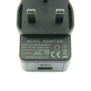 5V 2.5A USB Port Power Adapter - UK Plug pictures & photos