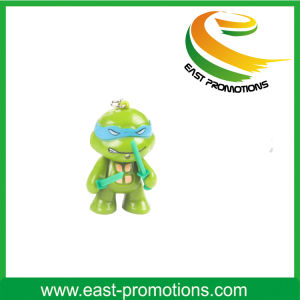 Cartoon Ninja Turtle LED Keychain pictures & photos