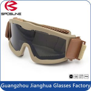 Anti-Fog Military Tactical Goggles Dustproof Eye Protection pictures & photos