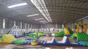 Floating Inflatable Water Game Aqua Water Park