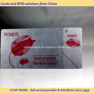 Plastic Combo Card - a Credit Card with a Fob Attached pictures & photos