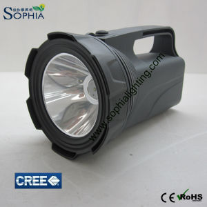 Rechargeable CREE LED Torch, Flashlight with USB Output