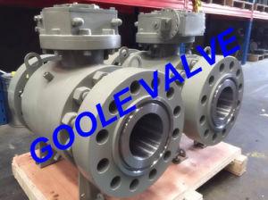 1500lb High Pressure Forged Trunnion Ball Valve (GAQ347N) pictures & photos