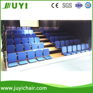 Fabric Wholesale Stainless Steel Movable Indoor China Supplier Used Bleachers Portable Retractable Seat pictures & photos