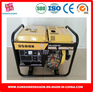 Diesel Generator for Homw Use Open Type 3kw 3500X pictures & photos