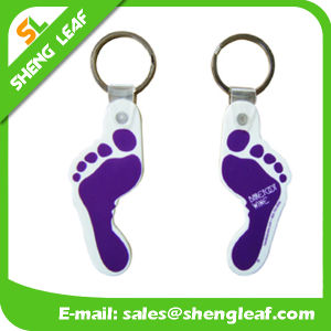 Supply Custom Rubber Soft PVC Key Chain (SLF-KC015) pictures & photos