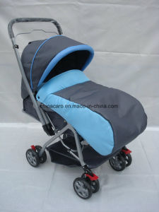 Popular Baby Pushchair with Foot Cover and Mosquito Net (CA-BB255) pictures & photos