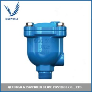 Ductile Iron Flanged Single Double Ball Air Release Valve pictures & photos
