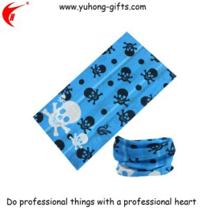 Hot Sale Skull Pattern Scarf Headwear for Promotional (YH-HS033) pictures & photos