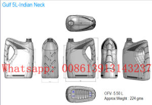 1L 3L 5L Plastic Bottle Jerry Can Blow Molding Machine pictures & photos