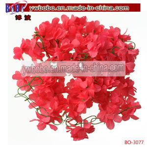 Wedding Home Decor Artificial Fake Azalea Flower Garland Rose (BO-3077) pictures & photos