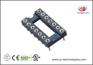 2.54mm IC Socket with SMT H=3.0 L=4.2 Connector pictures & photos