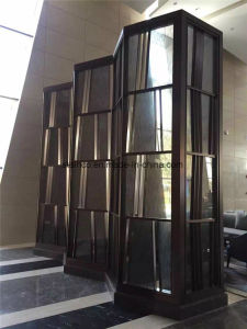 Home Furniture Folding Screen Decorative Stainless Steel Room Divider Partition pictures & photos