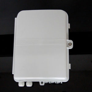 Grey / Beige Fiber Optic Distribution Box 48 Ports ABS FTTH Termination Box pictures & photos