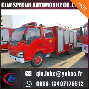 Japanese Brand Isuzu 10t Water Foam Fire Fighting Truck pictures & photos