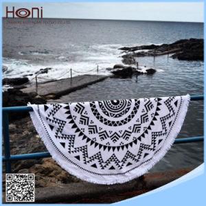 Be02 Printed Turkish Round Beach Towel Round Aztec Beach Towel pictures & photos