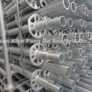 Good Quality SGS Psaaed Steel Ring Lock System Scaffold pictures & photos