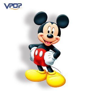 Eyecatching Cardboard Display Design Micky Mouse Standee for Advertising