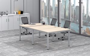 White Customized Metal Steel Office Conference Desk Frame with Ht25-501-3 pictures & photos