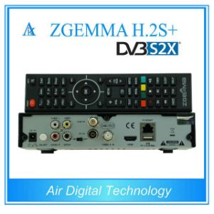 Digital DVB-S2+DVB-S2/S2X/T2/C Triple Tuners Zgemma H. 2s Plus Dual Core Enigma2 Satellite Receiver&Decoder pictures & photos