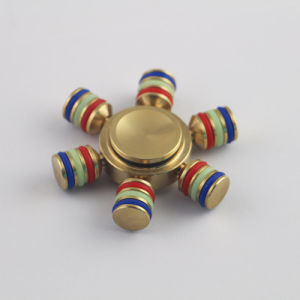 Newest Colorful Copper Metal Fidget Hand Spinner pictures & photos