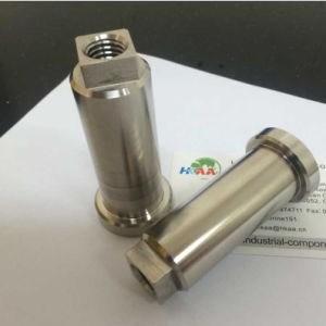 Precision Machined Carbon Steel Straight Pump Shaft pictures & photos