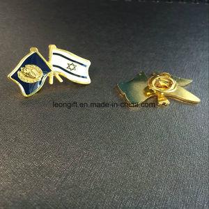 Customized Poppy Hard Enamel Lapel Pin Badge Wholesale pictures & photos