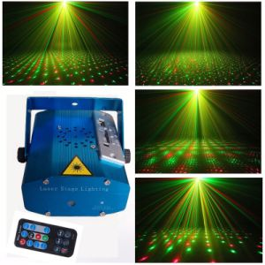 Factory Wolesale Disco Laser Light Mini Laser Stage Light Twinkling Star Effect with MP3 Player pictures & photos