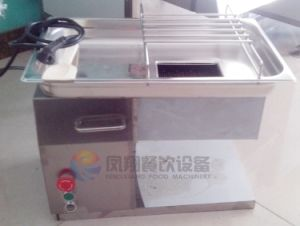 Mini Desktop Meat Cutter, Port Chicken Fish Slicing Machine for Small Shop pictures & photos