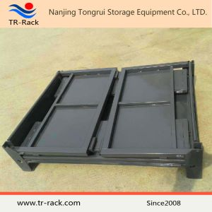 Very Usage Steel Foldable Storage Mesh Cage for Warehouse Storage pictures & photos