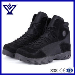 Best Quality Black Military Outdoor Tactical Boots for Police Army (SYSG-201753) pictures & photos