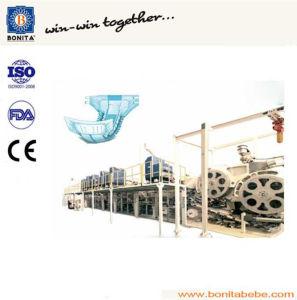 China Semi-Servo Adult Incontinence Pad Machine with Ce (BNT-AD-05)