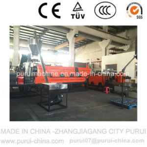 Double Stage Plastic Extrusion Machine for Waste Milk Bottle Pelletizing pictures & photos