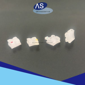Orthodontic Ceramic Brackets - Mesh Base pictures & photos