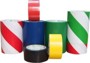 PVC Floor Marking Adhesive Tape (150u) pictures & photos