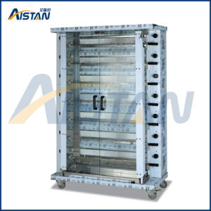 Kj7 7 Burners Free Standing High Efficiency Chicken Rotisseries for Kitchen pictures & photos