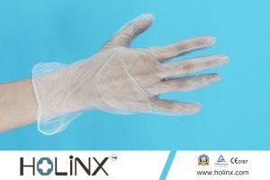 Vinyl Exam Glove Cleanroom Vinyl Gloves Powdered pictures & photos